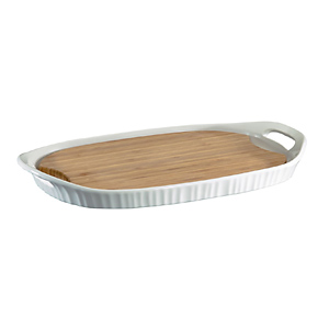Corningware French White Platter
