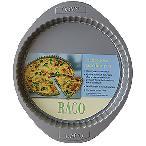 RACO Bakeware Loose Base Flan Pan