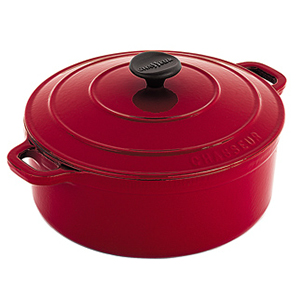 Chasseur Round French Oven Red