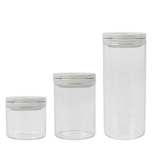 oxo good grips fliplock glass canister